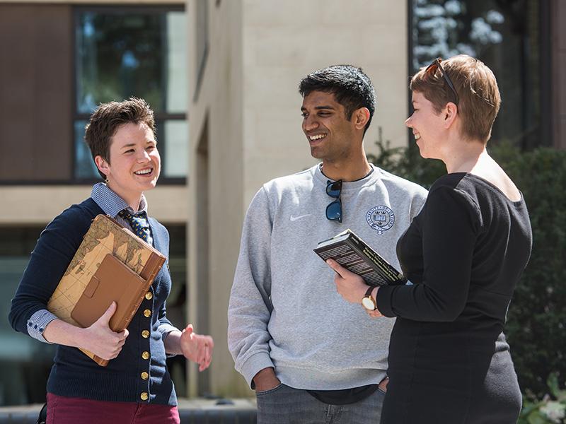 Graduate students. Image: Oxford University Images/John Cairns.