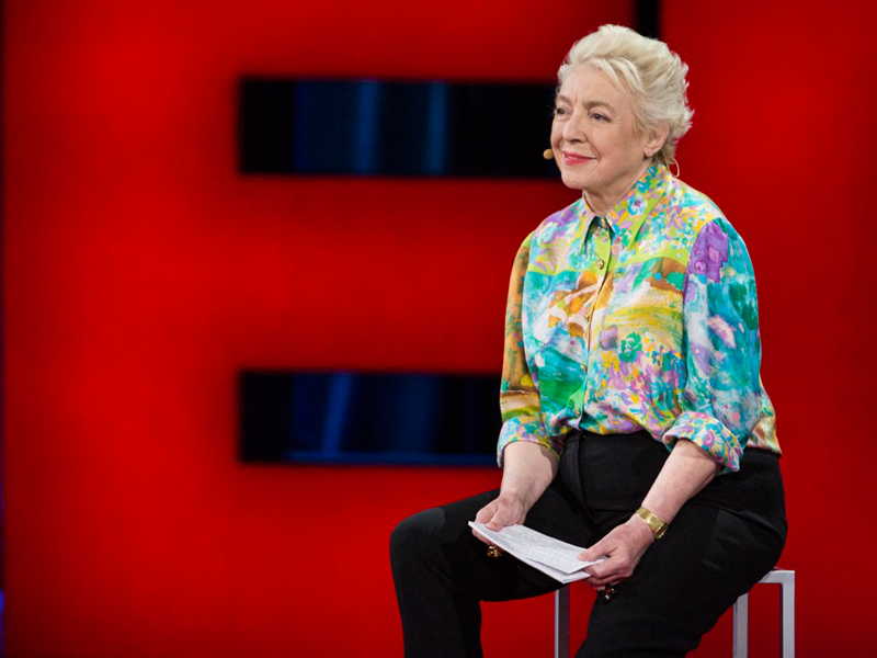 Dame Stephanie Shirley, speaking at TED2015.