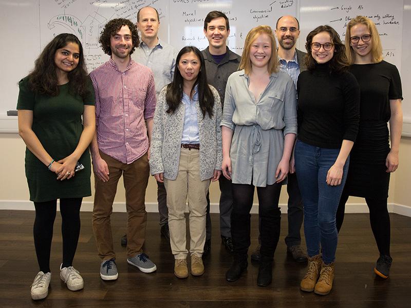 Members of the FHI team. Image: Kinga, Fisher Studios.
