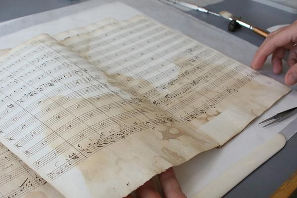 MS. Tenbury 1208, church music by Johann Pachelbel