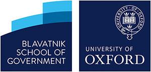 Blavatnik School of Government and University Oxford logos
