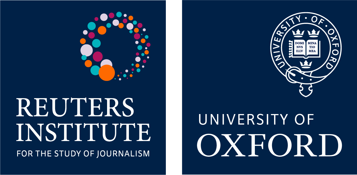 Reuters Institute and University Oxford logos