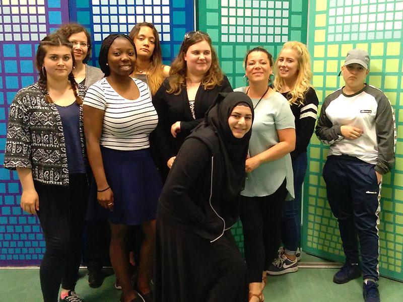 Participants of the Go_Girl pilot course, 2015/16