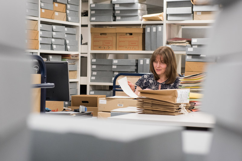 Susan Thomas, Head of Archives and Modern Manuscripts