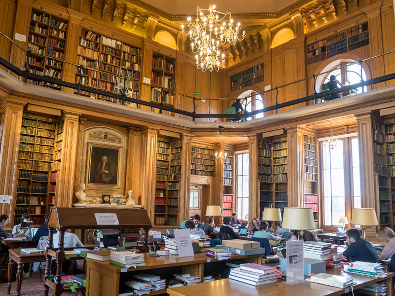 Oxford's German Collection is housed in the Taylor Institution Library. Photo by Stuart Bebb