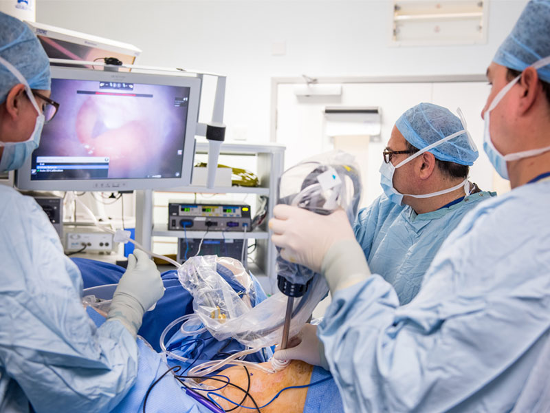 The Da Vinci Robotic Platform is used for colorectal surgery © Academy of Medical Sciences / John Cairns Photography