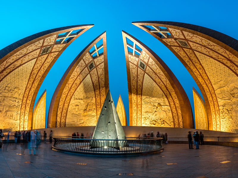 The Pakistan Monument © Shutterstock / Shahid Khan