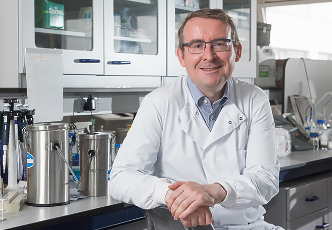 Professor Ian Mills. Photo by John Cairns