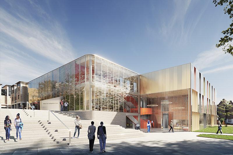 Architects' impression of the William Doo Undergraduate Centre