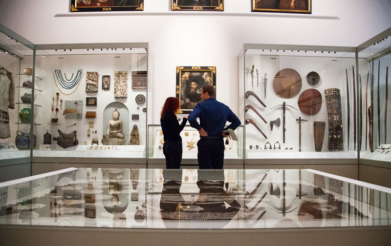 Ashmolean Story Gallery. Photo by John Cairns