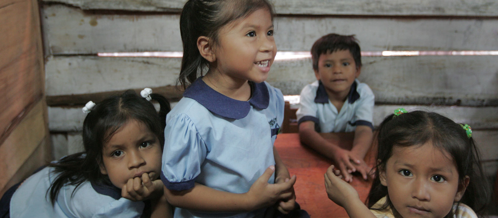 Young children at a school in Peru. Photo by Young Lives / Lucero Del Castillo Ames