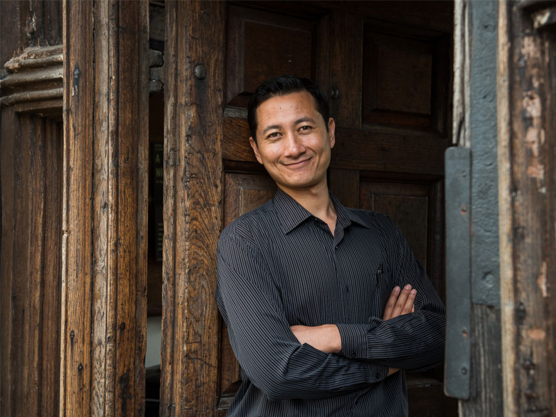Poojan Shrestha. Photo by John Cairns.