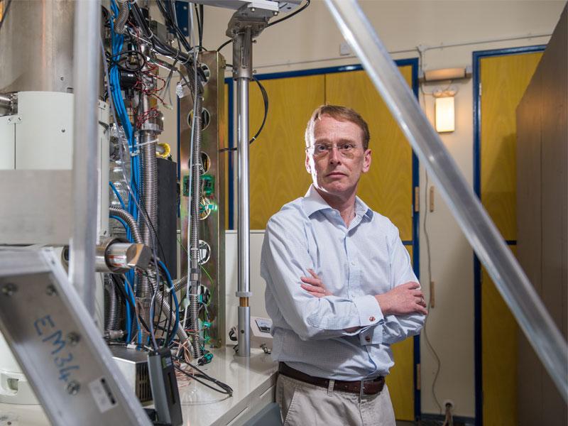 Professor Angus Kirkland, Oxford's JEOL Professor of Microscopy