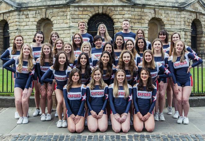 Oxford Sirens 2019 team - photo by Aleksandra Cywińska